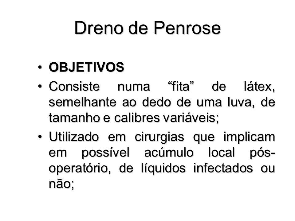 Dreno de Penrose OBJETIVOS