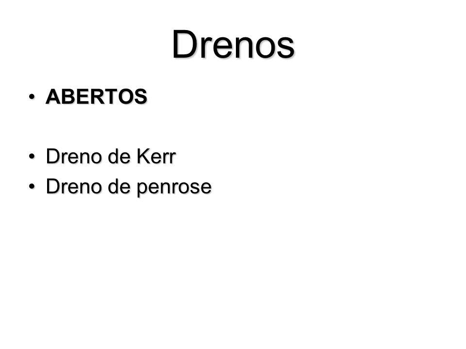 Drenos ABERTOS Dreno de Kerr Dreno de penrose