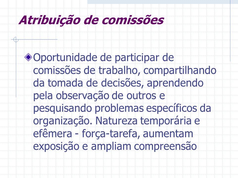 Atribuição de comissões