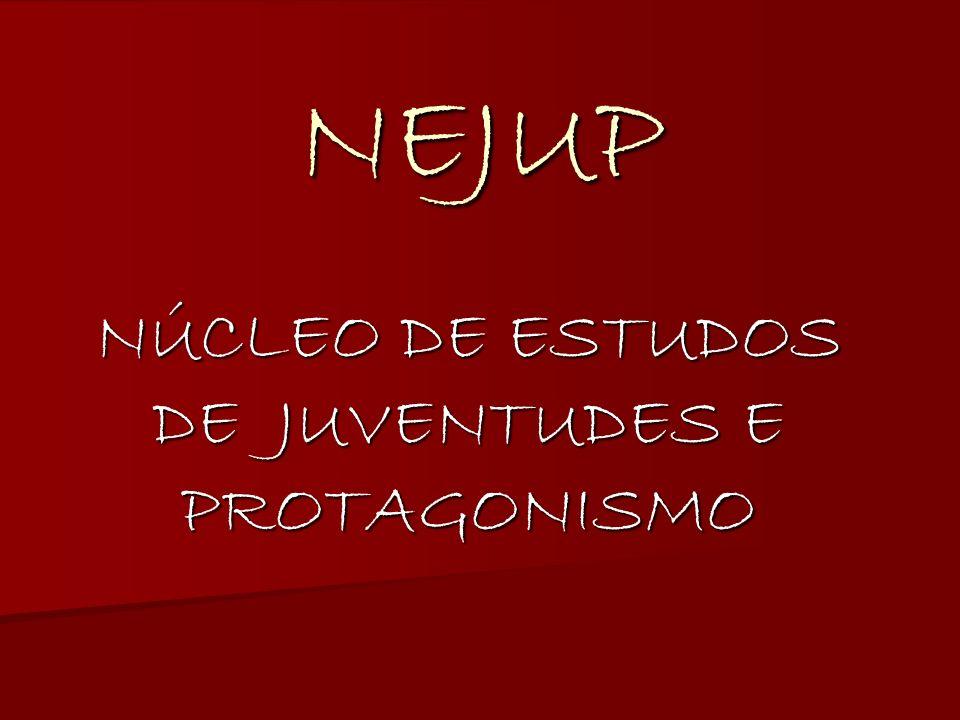 NÚCLEO DE ESTUDOS DE JUVENTUDES E PROTAGONISMO