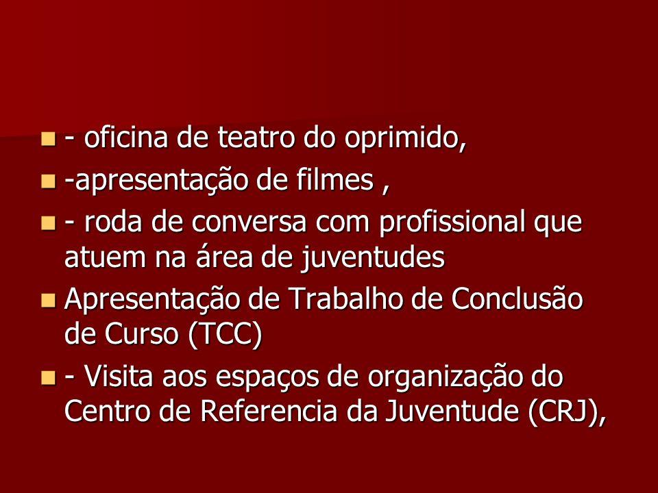 - oficina de teatro do oprimido,