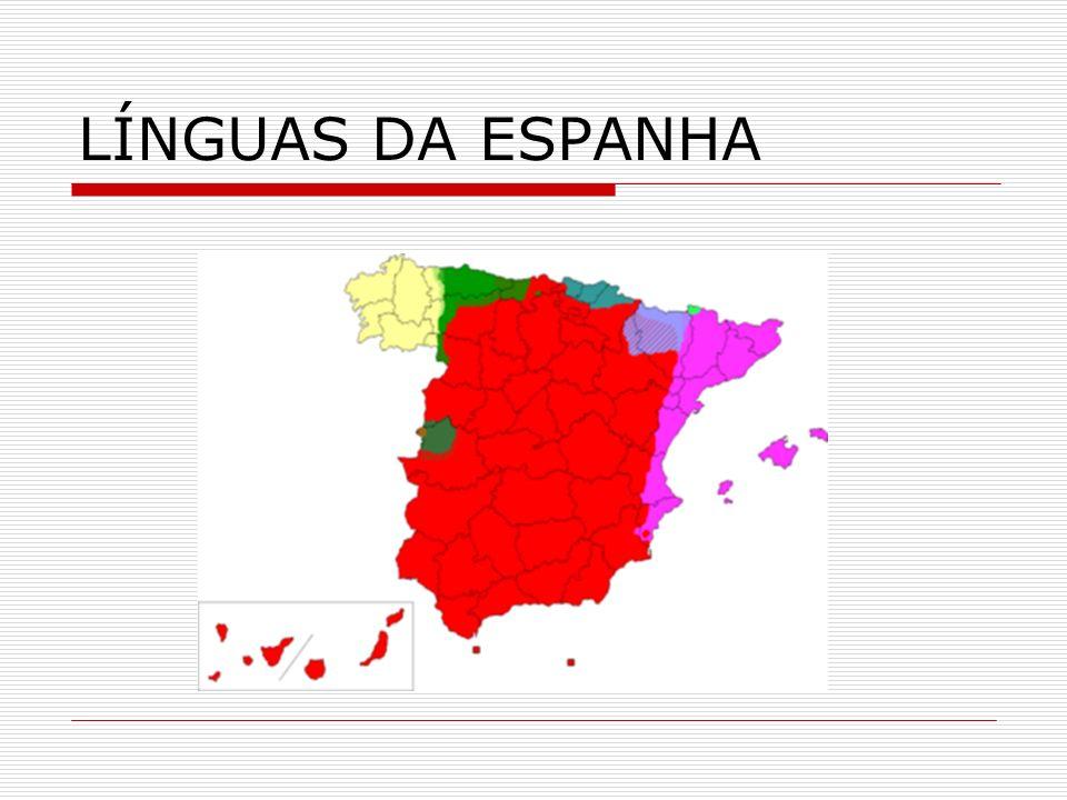 LÍNGUAS DA ESPANHA