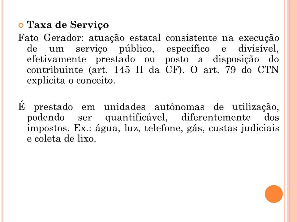 Taxa de Serviço