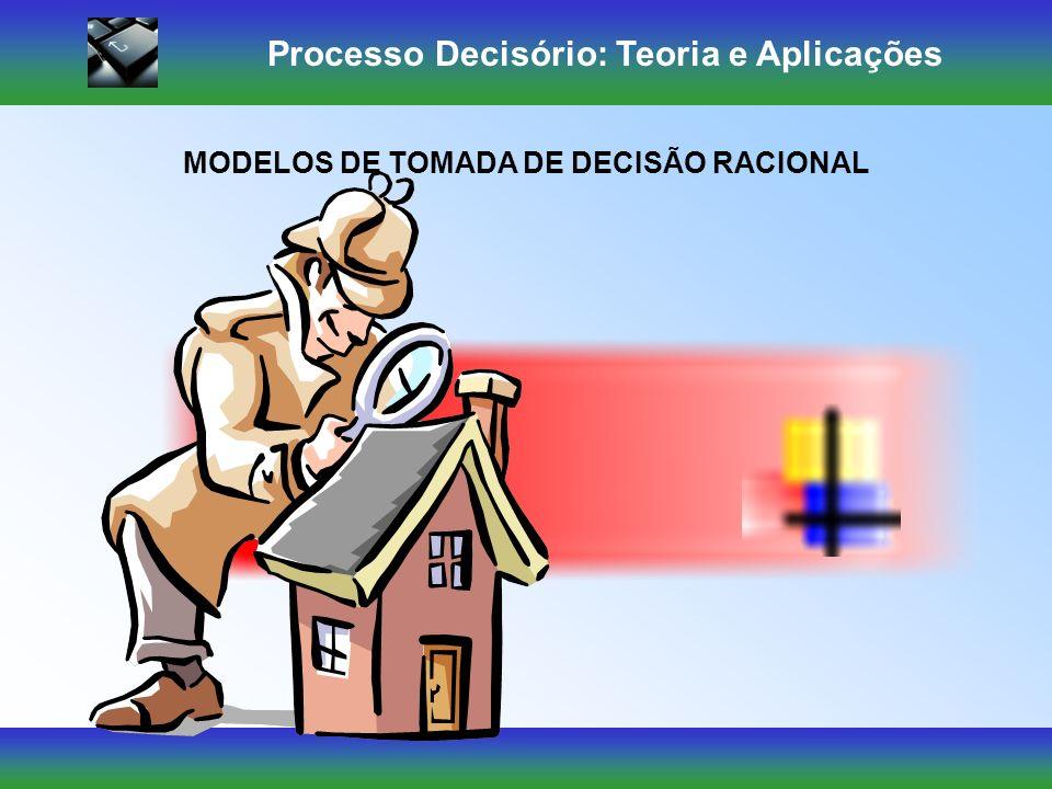 Processo Decisório: Teoria e Aplicações