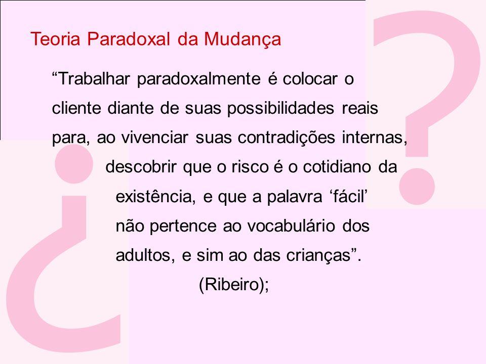 Teoria Paradoxal da Mudança