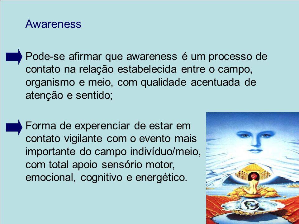 Awareness Pode-se afirmar que awareness é um processo de