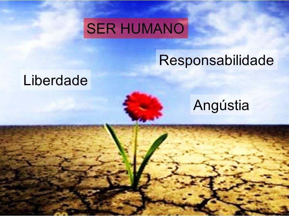 SER HUMANO Responsabilidade Liberdade Angústia