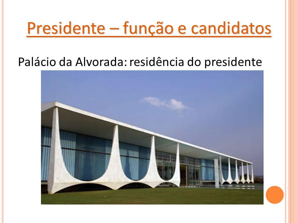 Presidente – função e candidatos