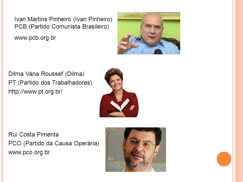 Ivan Martins Pinheiro (Ivan Pinheiro) PCB (Partido Comunista Brasileiro)