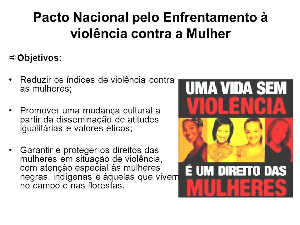 Pacto Nacional pelo Enfrentamento à violência contra a Mulher