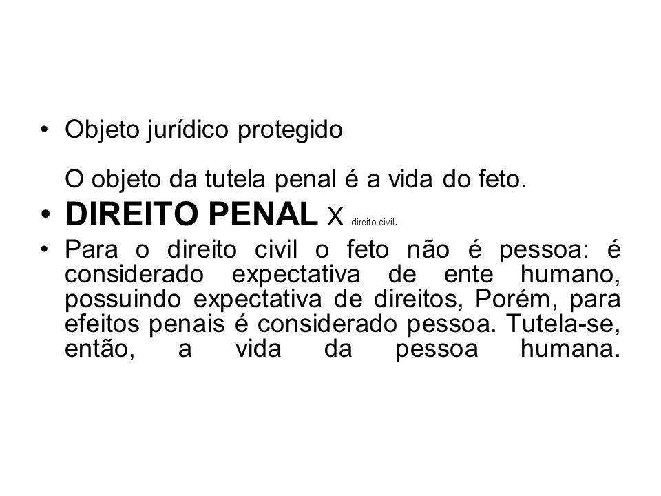 DIREITO PENAL X direito civil.