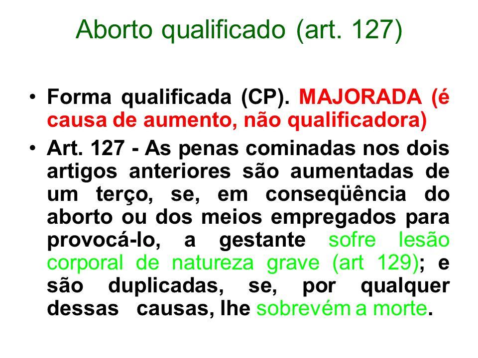 Aborto qualificado (art. 127)