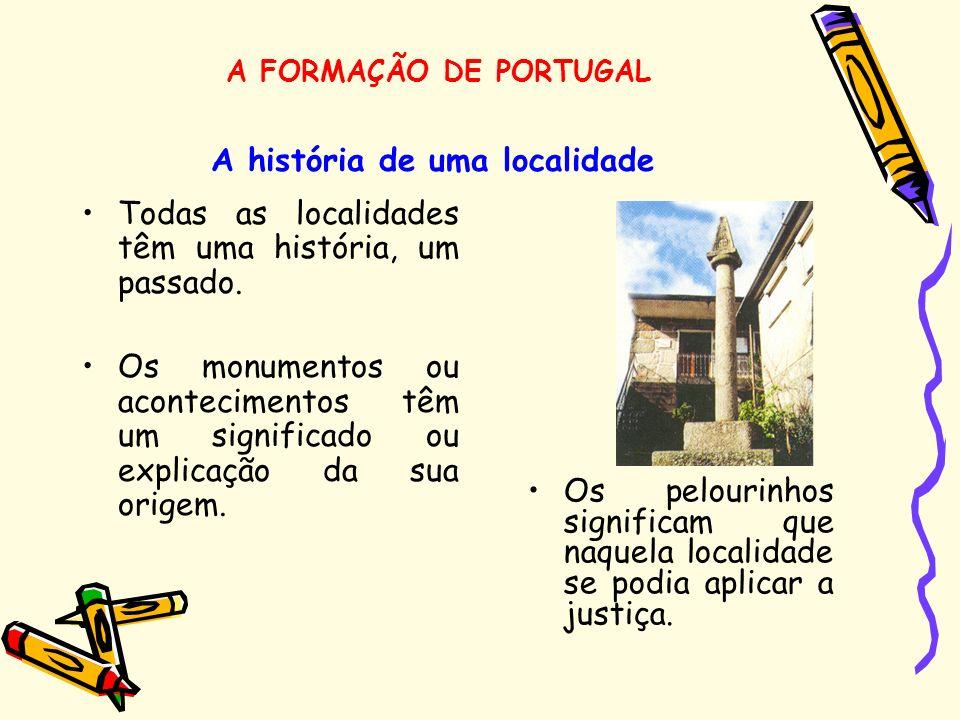 A história de uma localidade