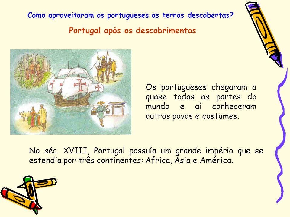 Portugal após os descobrimentos