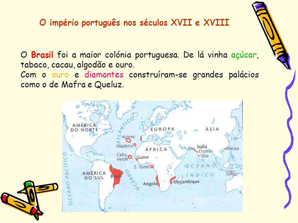 O império português nos séculos XVII e XVIII