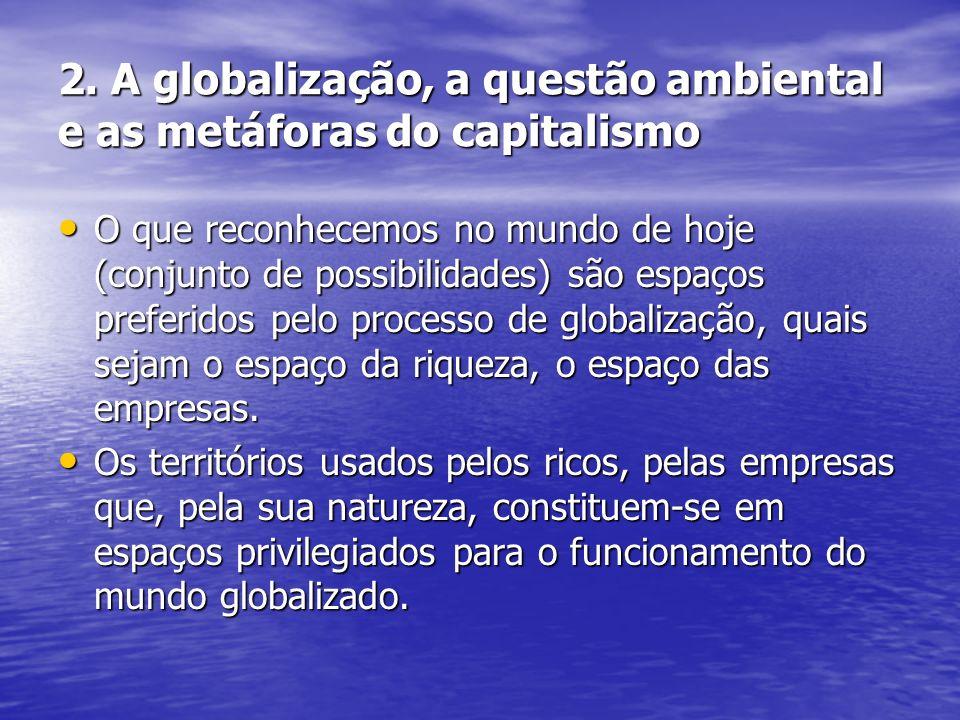 2. A globalização, a questão ambiental e as metáforas do capitalismo