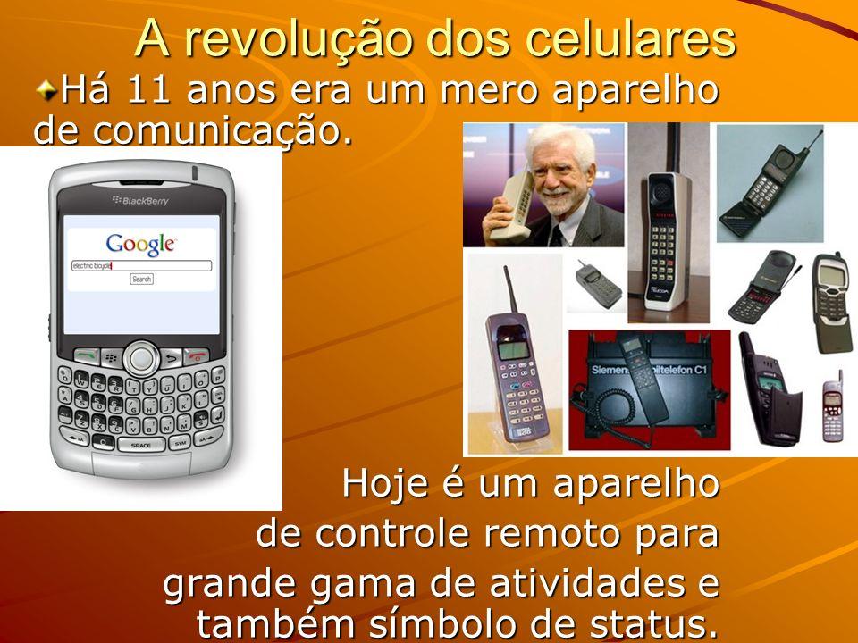 A revolução dos celulares