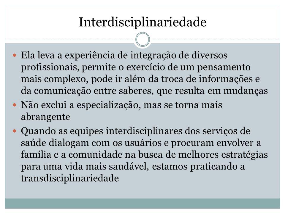 Interdisciplinariedade