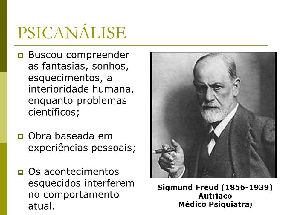 Sigmund Freud (1856-1939) Autríaco