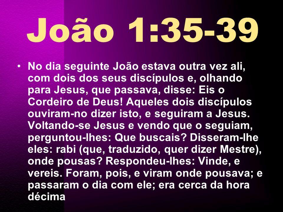 João 1:35-39