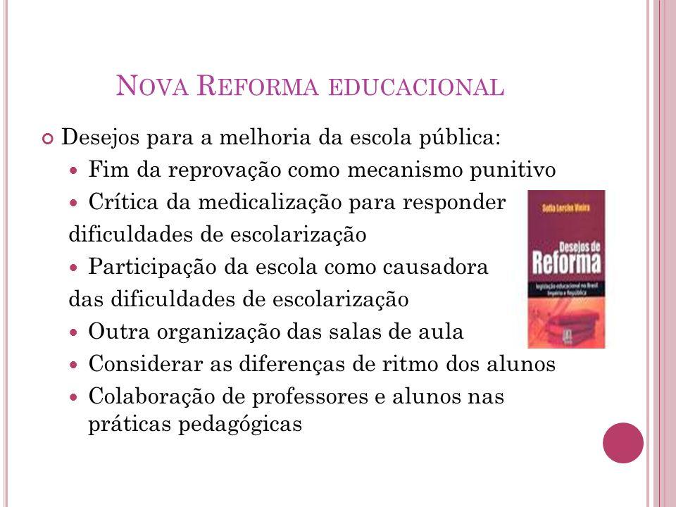 Nova Reforma educacional
