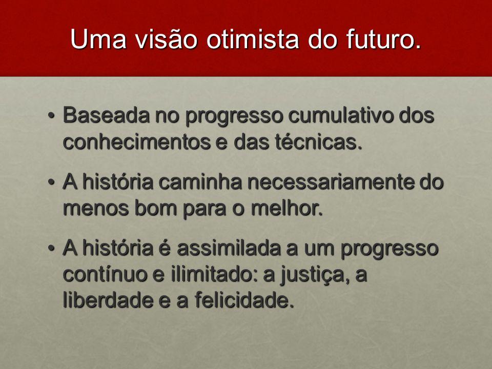 Uma visão otimista do futuro.