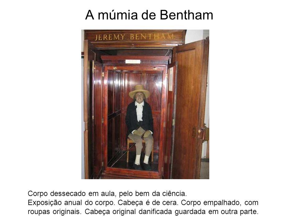 A múmia de Bentham