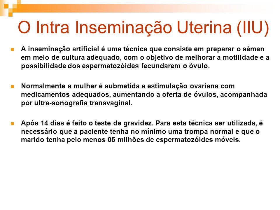 O Intra Inseminação Uterina (IIU)