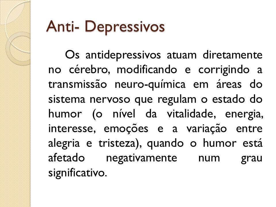 Anti- Depressivos