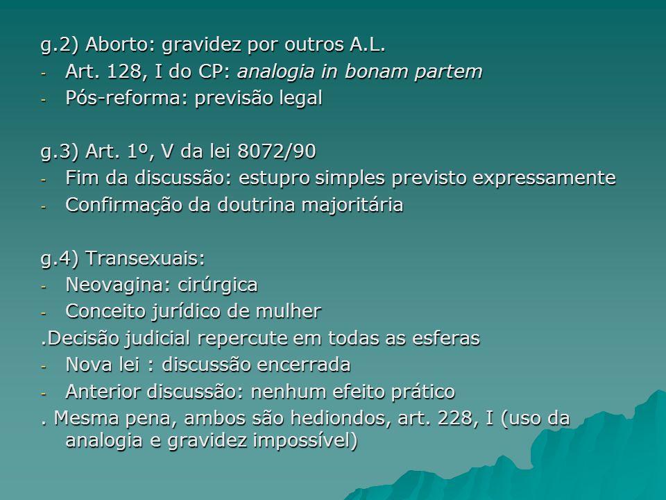 g.2) Aborto: gravidez por outros A.L.