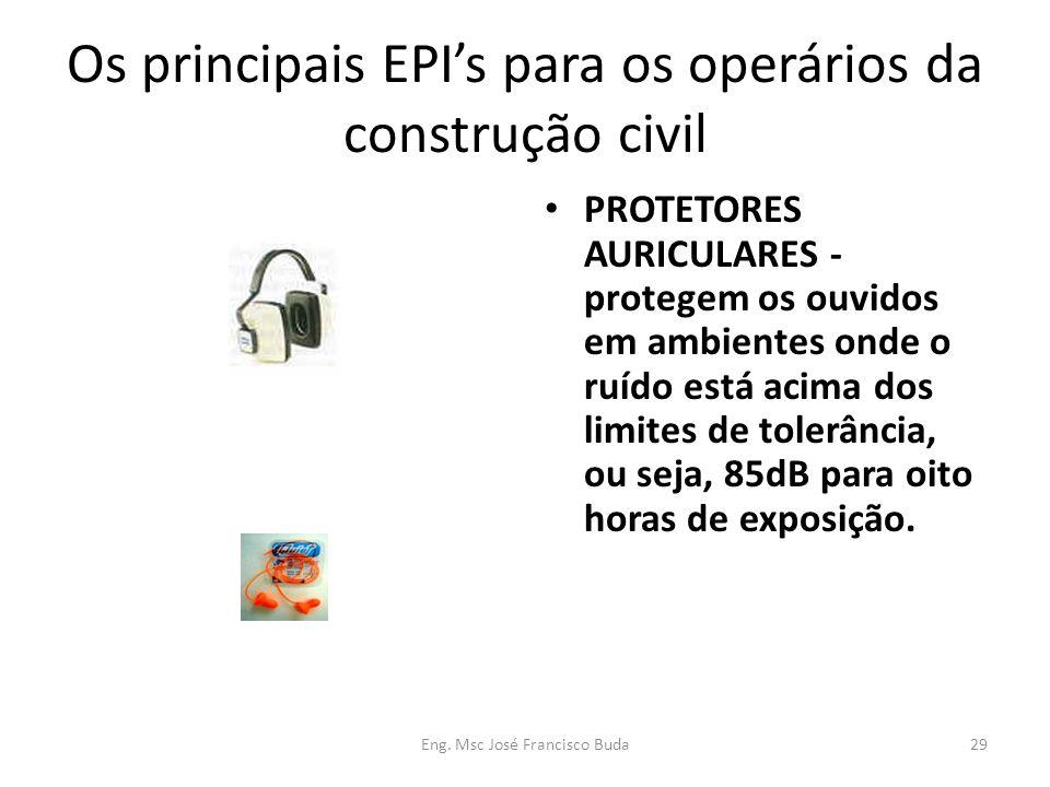 Os principais EPI's para os operários da construção civil