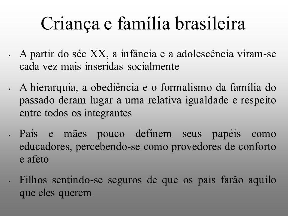 Criança e família brasileira