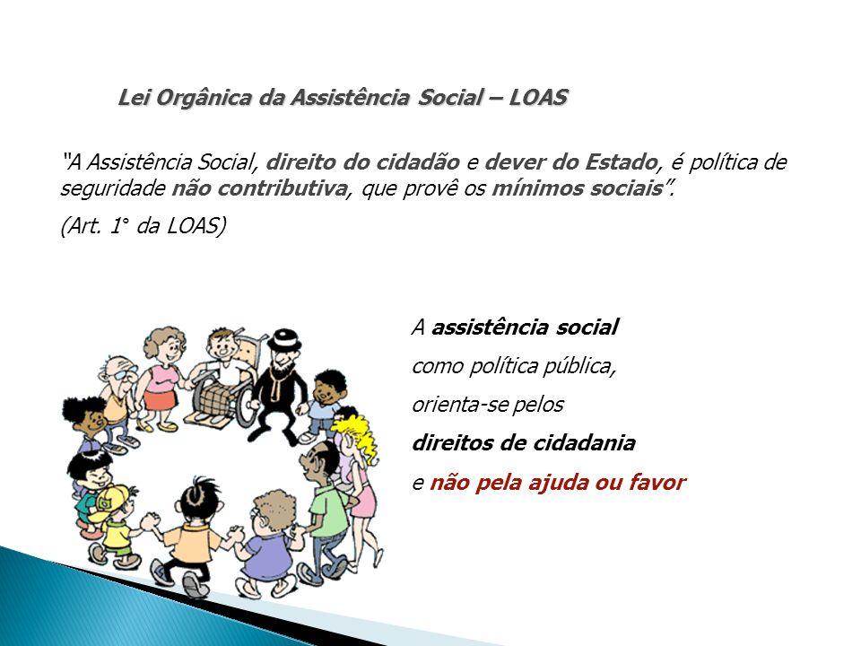 Lei Orgânica da Assistência Social – LOAS