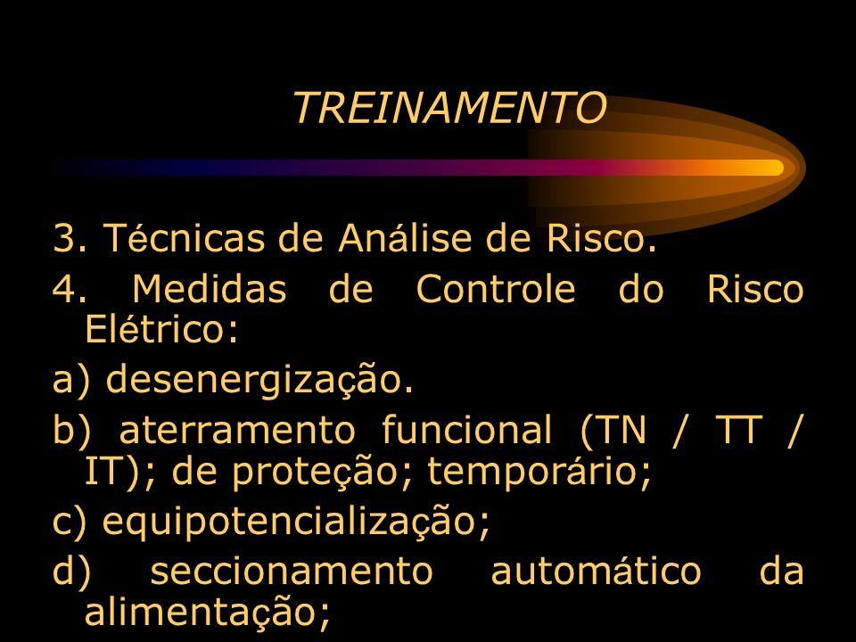 TREINAMENTO 3. Técnicas de Análise de Risco.