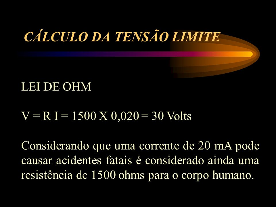 CÁLCULO DA TENSÃO LIMITE