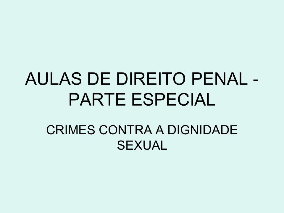 AULAS DE DIREITO PENAL - PARTE ESPECIAL