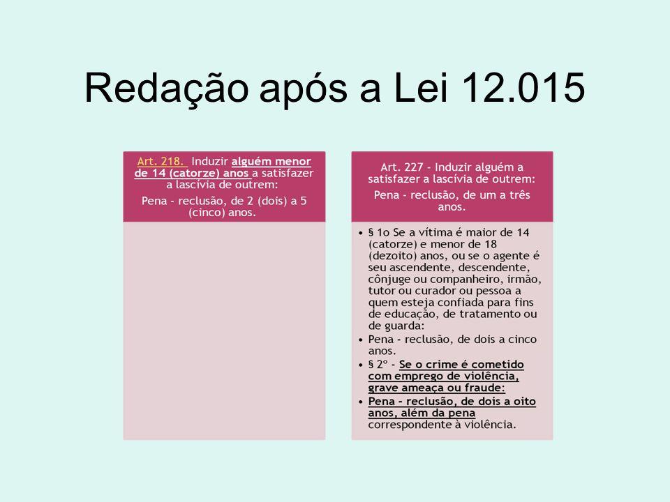 Redação após a Lei 12.015