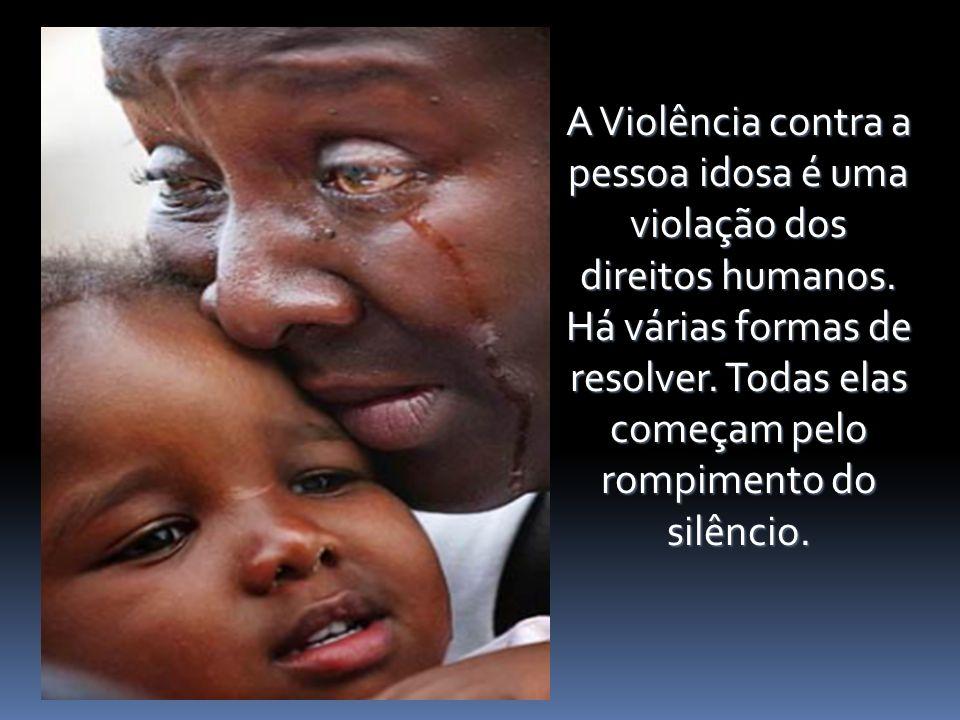 violação dos direitos humanos.