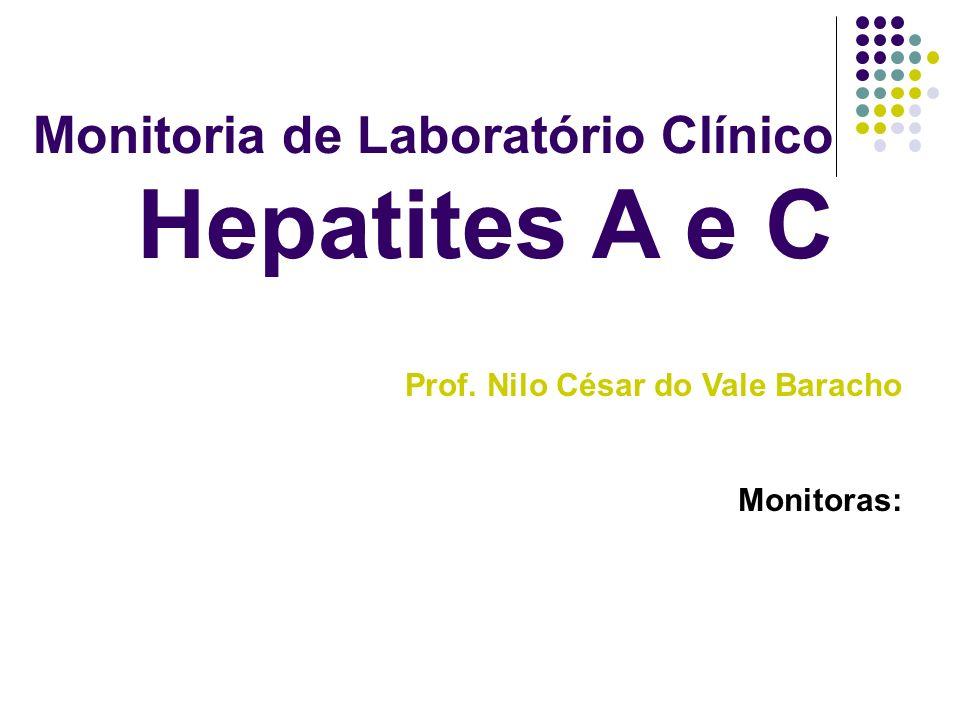 Monitoria de Laboratório Clínico Hepatites A e C