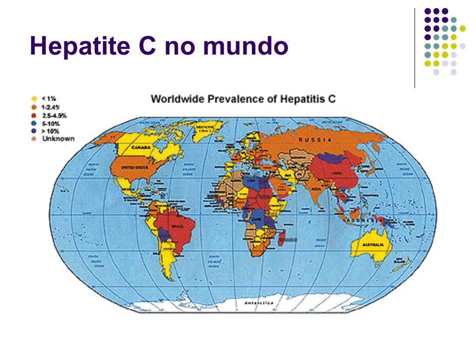 Hepatite C no mundo