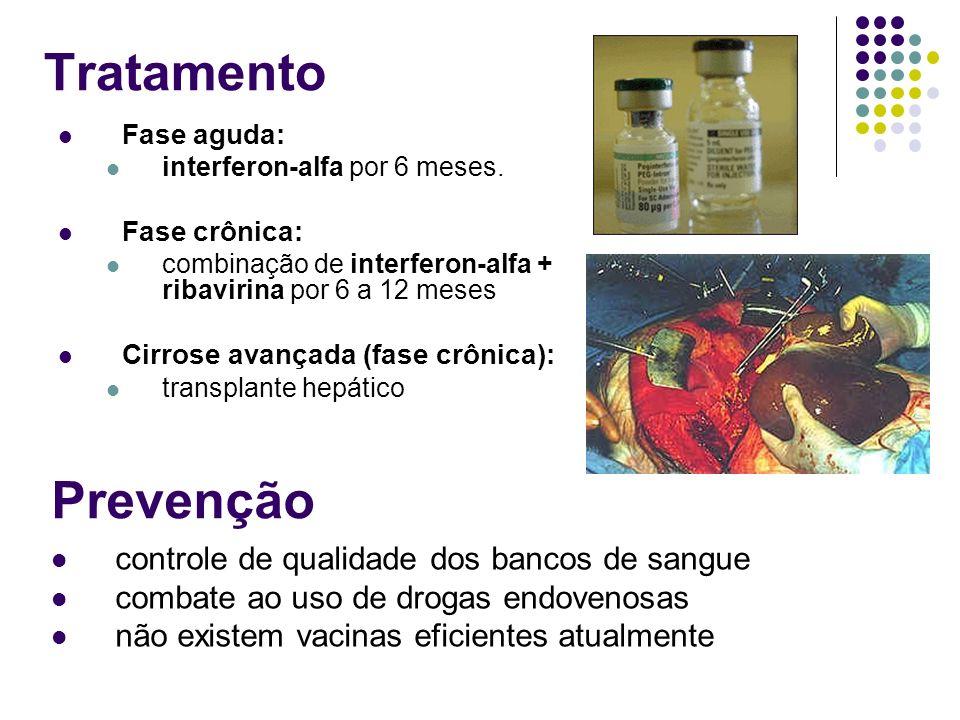 Tratamento Prevenção controle de qualidade dos bancos de sangue