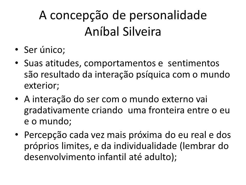 A concepção de personalidade Aníbal Silveira