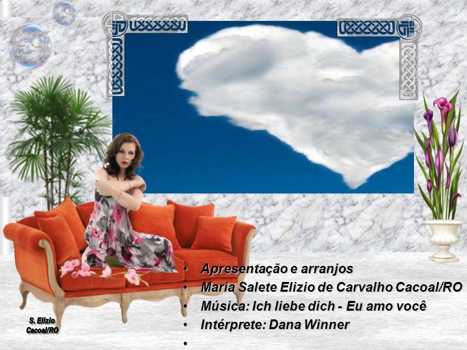 Apresentação e arranjos Maria Salete Elizio de Carvalho Cacoal/RO