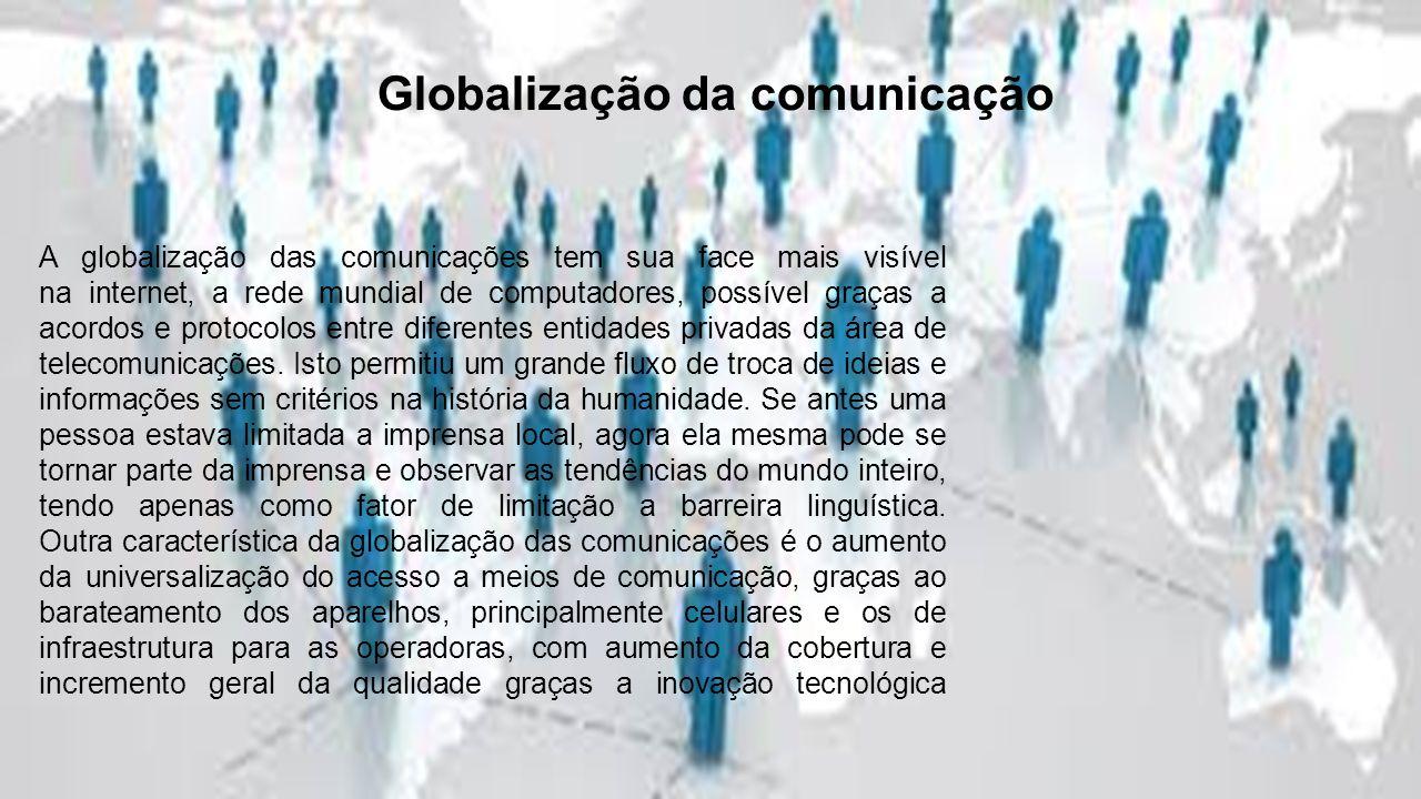 Globalização da comunicação