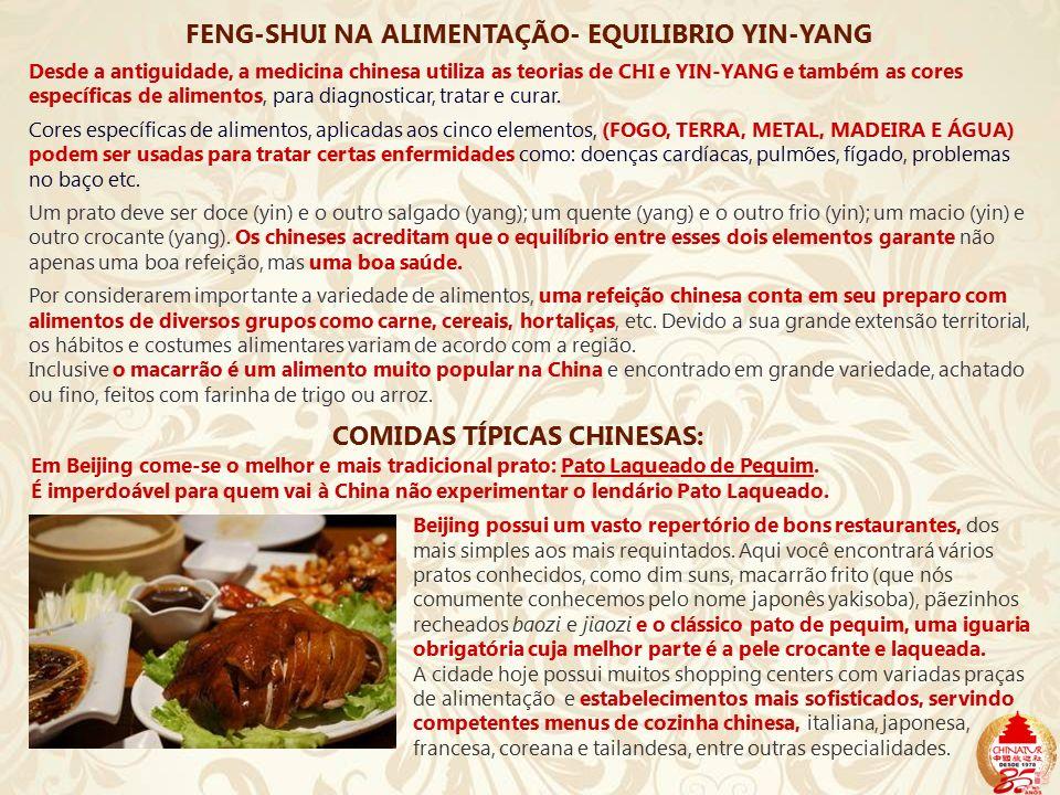 FENG-SHUI NA ALIMENTAÇÃO- EQUILIBRIO YIN-YANG