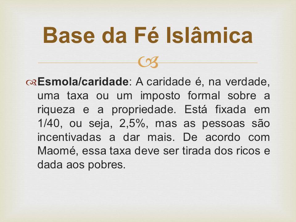 Base da Fé Islâmica