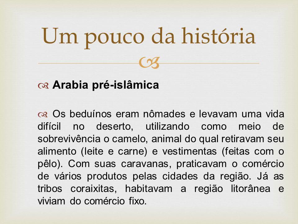 Um pouco da história Arabia pré-islâmica