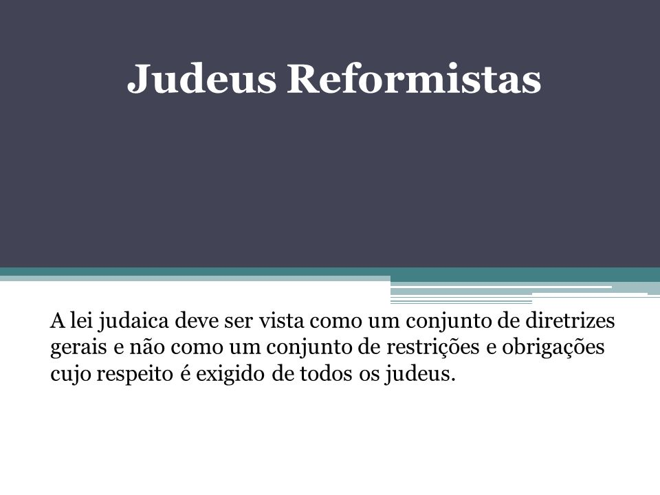 Judeus Reformistas