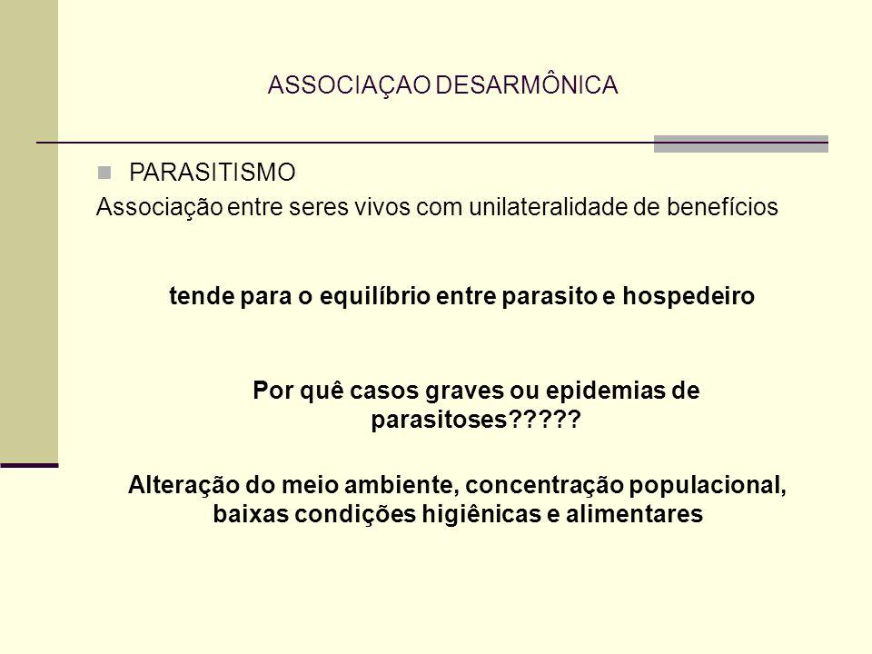 ASSOCIAÇAO DESARMÔNICA