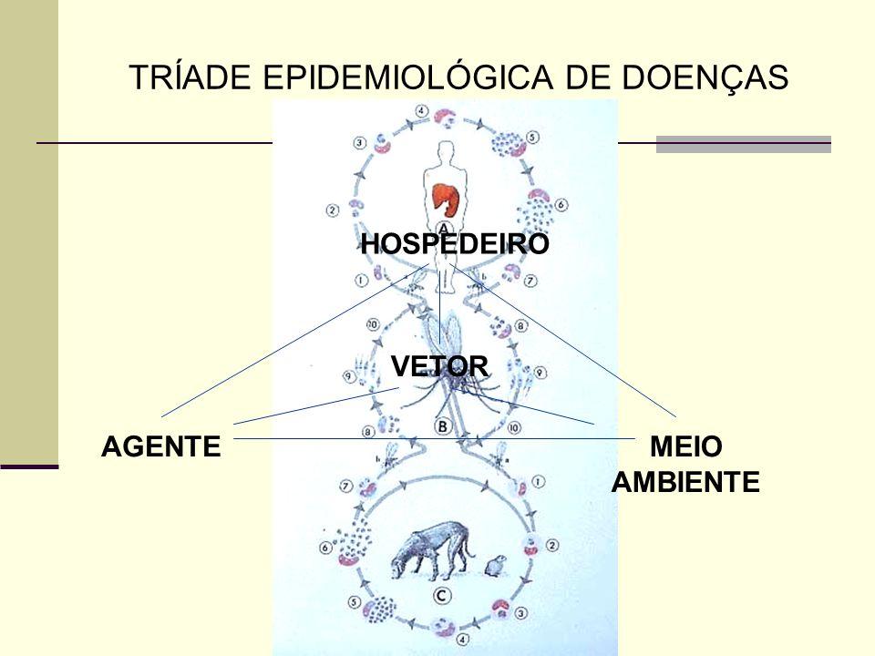 TRÍADE EPIDEMIOLÓGICA DE DOENÇAS